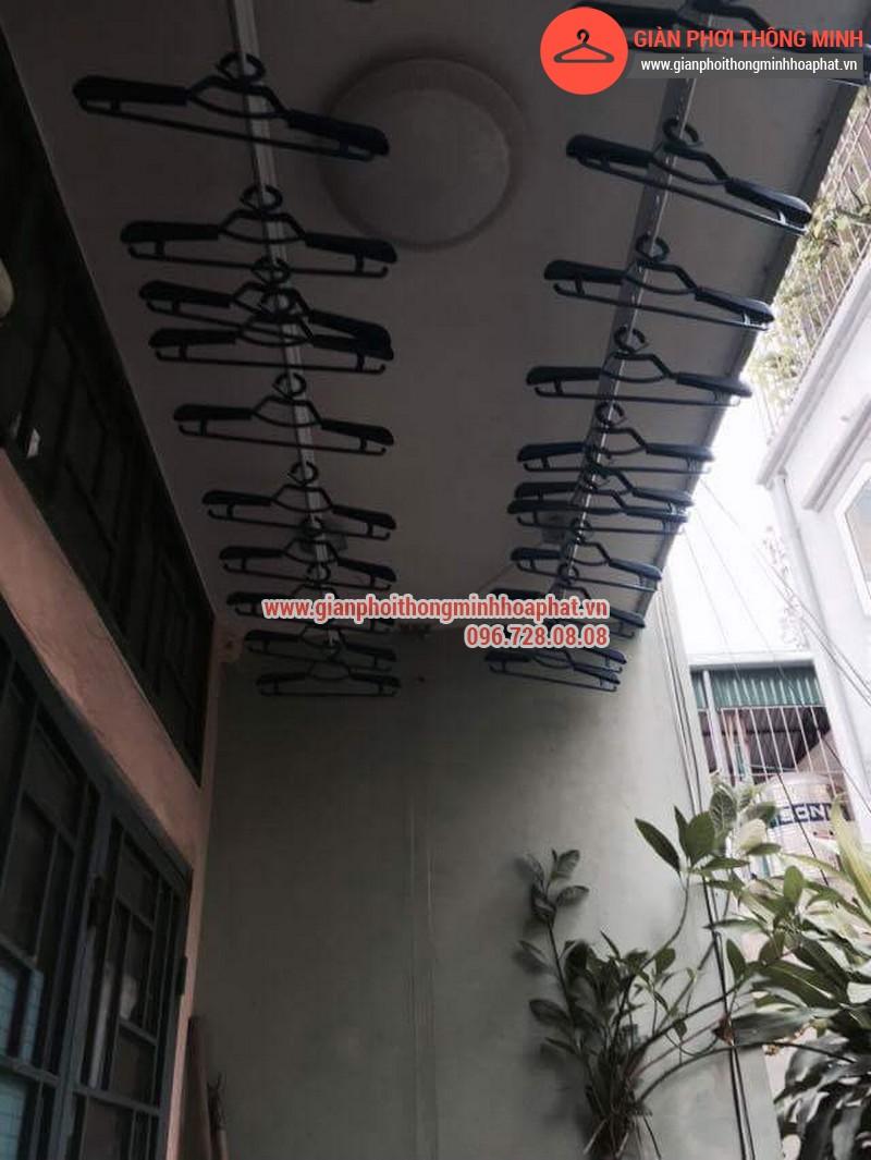 Nhà chị Bảo lắp giàn phơi thông minh số 20 ngõ 1 Nguyễn Thái Học, Hà Đông 14