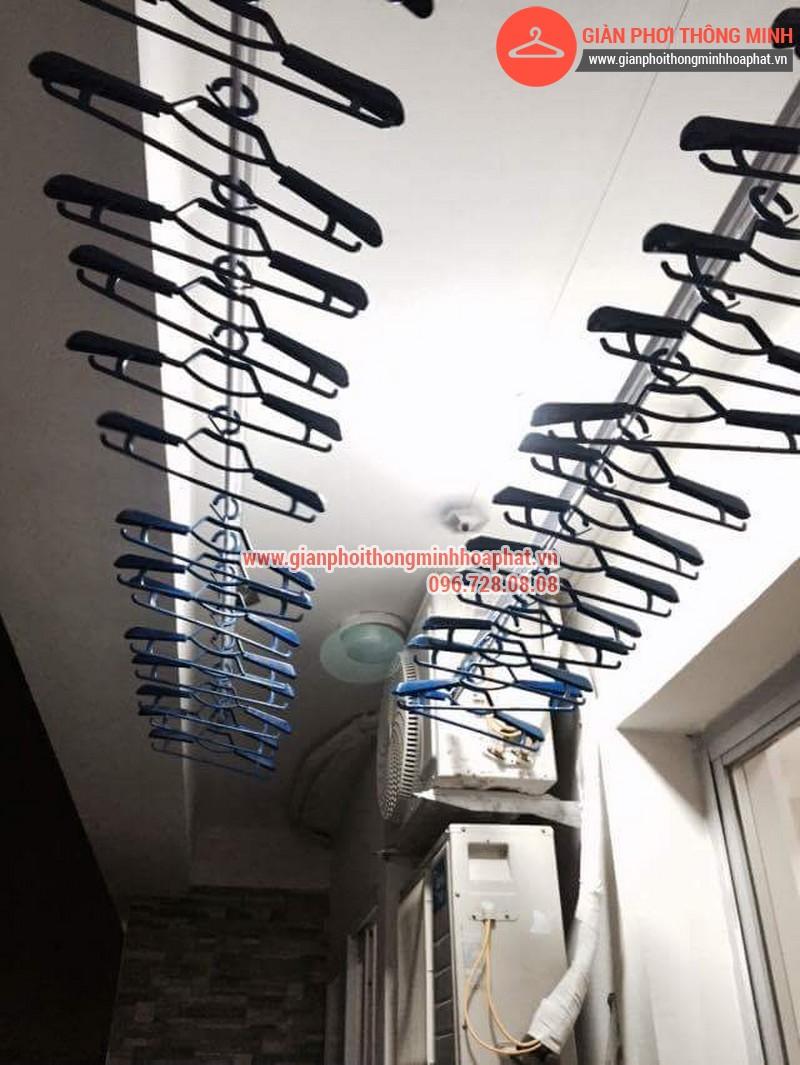 Nhà anh Bằng lắp giàn phơi thông minh phòng 1006 số 262 Nguyễn Huy Tưởng 11