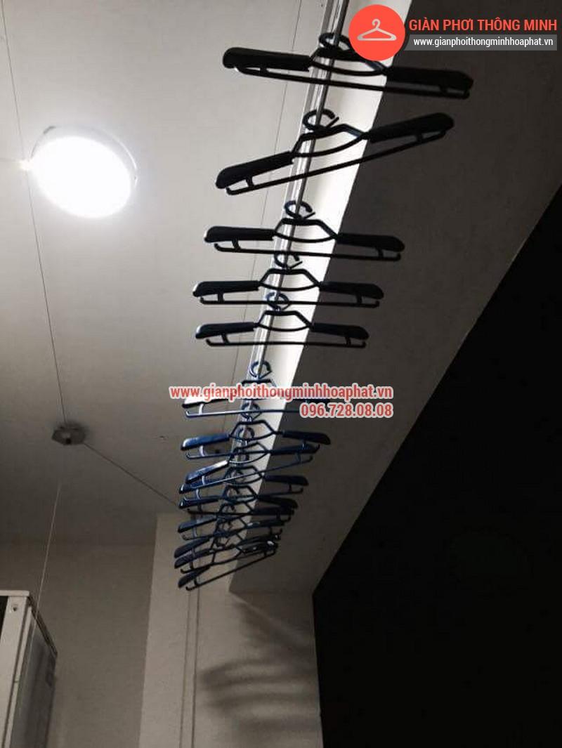 Nhà anh Bằng lắp giàn phơi thông minh phòng 1006 số 262 Nguyễn Huy Tưởng 18