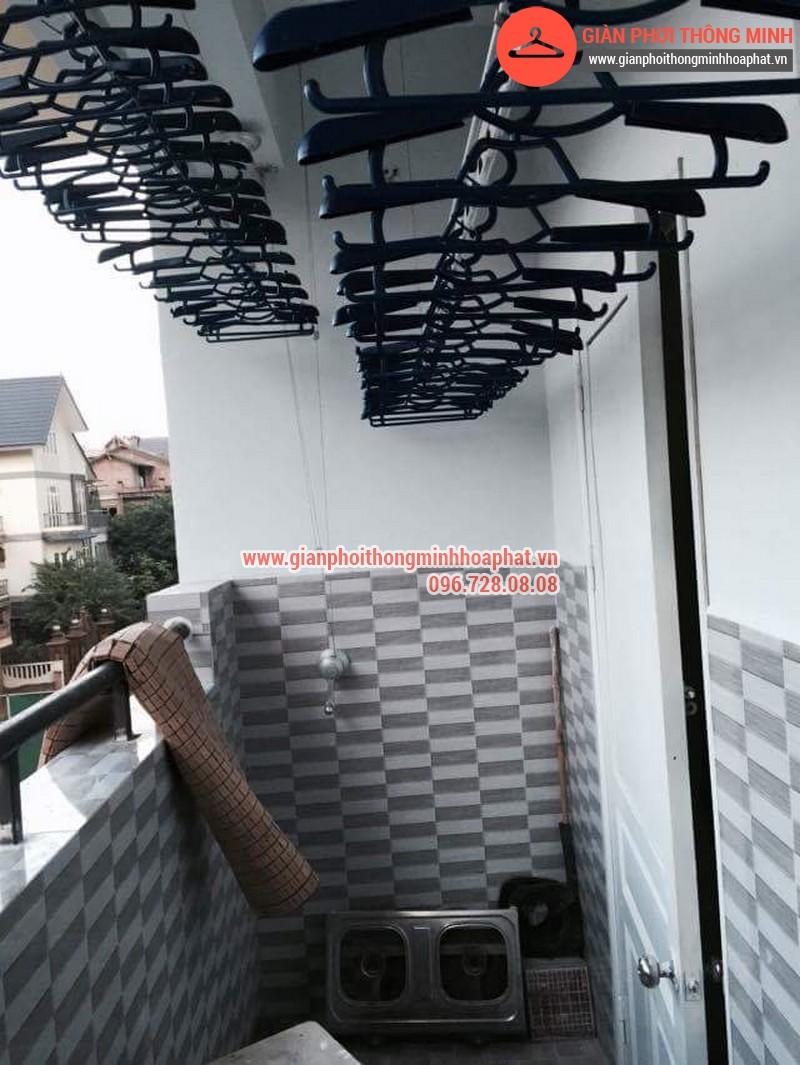 Nhà anh Thanh lắp giàn phơi thông minh phòng 207 tòa CT3B Đại Lộ Thăng Long 04