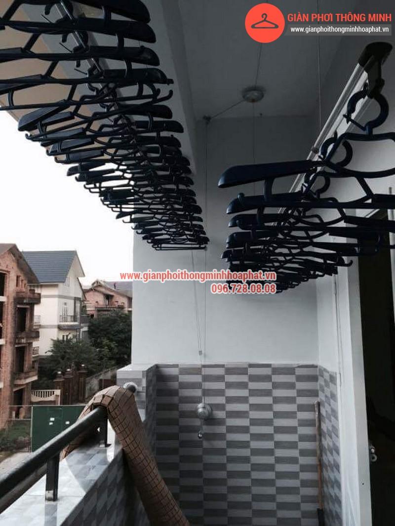 Nhà anh Thanh lắp giàn phơi thông minh phòng 207 tòa CT3B Đại Lộ Thăng Long 08