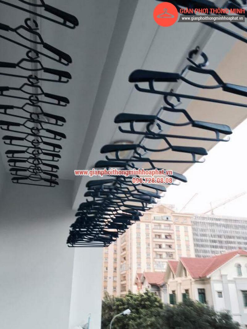 Nhà anh Thanh lắp giàn phơi thông minh phòng 207 tòa CT3B Đại Lộ Thăng Long 09