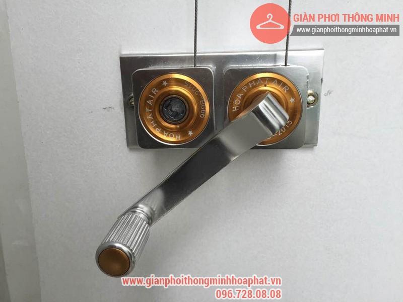 Sửa giàn phơi thông minh nhà chị Bình phòng 312R3B- Royal City 05