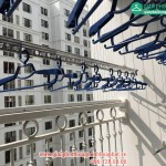 Lắp giàn phơi thông minh nhà chị Hường phòng 2205 tòa T5 Times City – bộ HP999