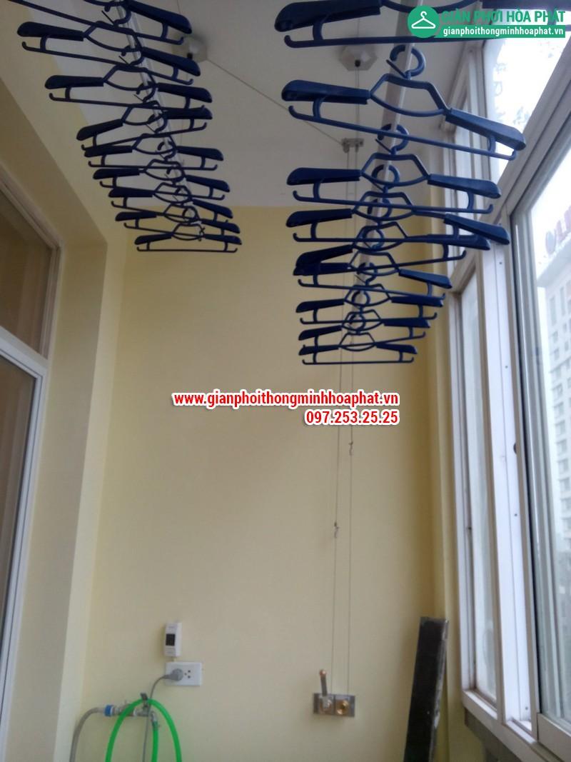 Nhà A.Văn lắp giàn phơi thông minh phòng 505 No6B2 Cầu Giấy 12