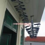 Giàn phơi thông minh nhà anh Lâm số 11 ngõ 247 phố Lâm Du, Long Biên, Hà Nội