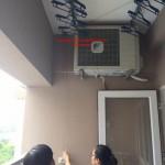 Giàn phơi thông minh nhà anh Long P703 tòa GH6 Việt Hưng