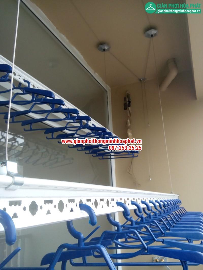 Giàn phơi thông minh nhà chị Nga P1806 Chung cư CT2 - Dream Town - Coma6 09