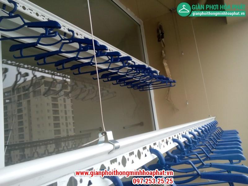 Giàn phơi thông minh nhà chị Nga P1806 Chung cư CT2 - Dream Town - Coma6 10