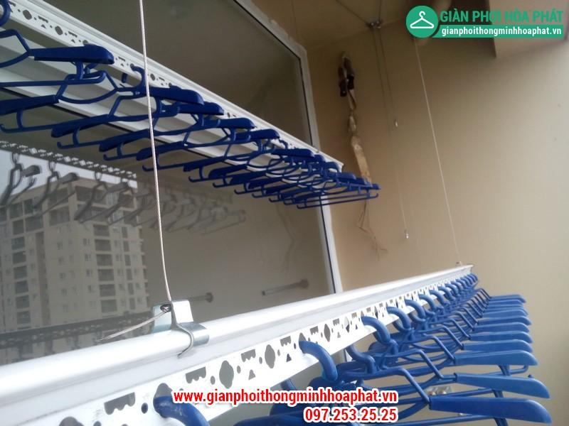 Giàn phơi thông minh nhà chị Nga P1806 Chung cư CT2 - Dream Town - Coma6 11