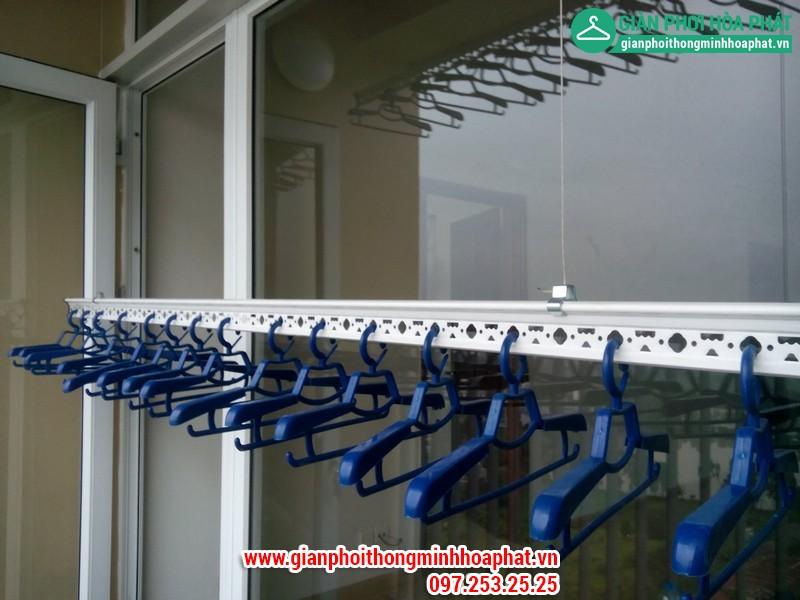 Giàn phơi thông minh nhà chị Nga P1806 Chung cư CT2 - Dream Town - Coma6 14
