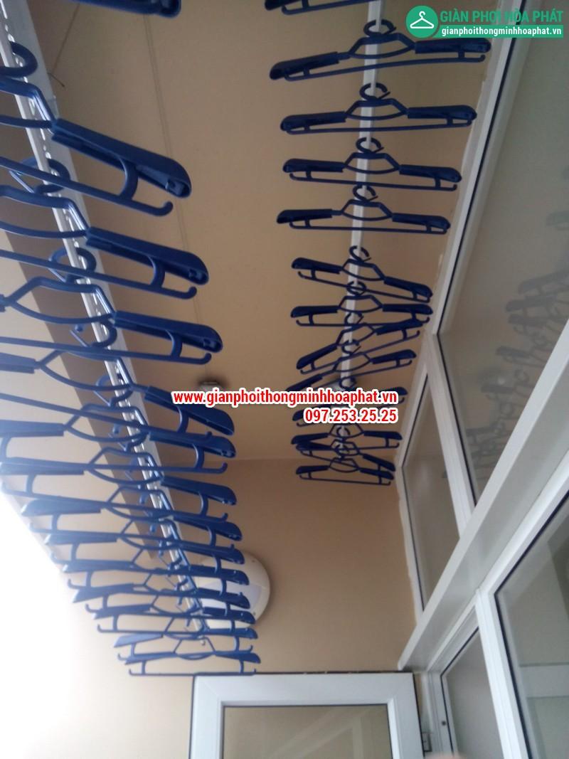 Giàn phơi thông minh nhà chị Nga P1806 Chung cư CT2 - Dream Town - Coma6 18