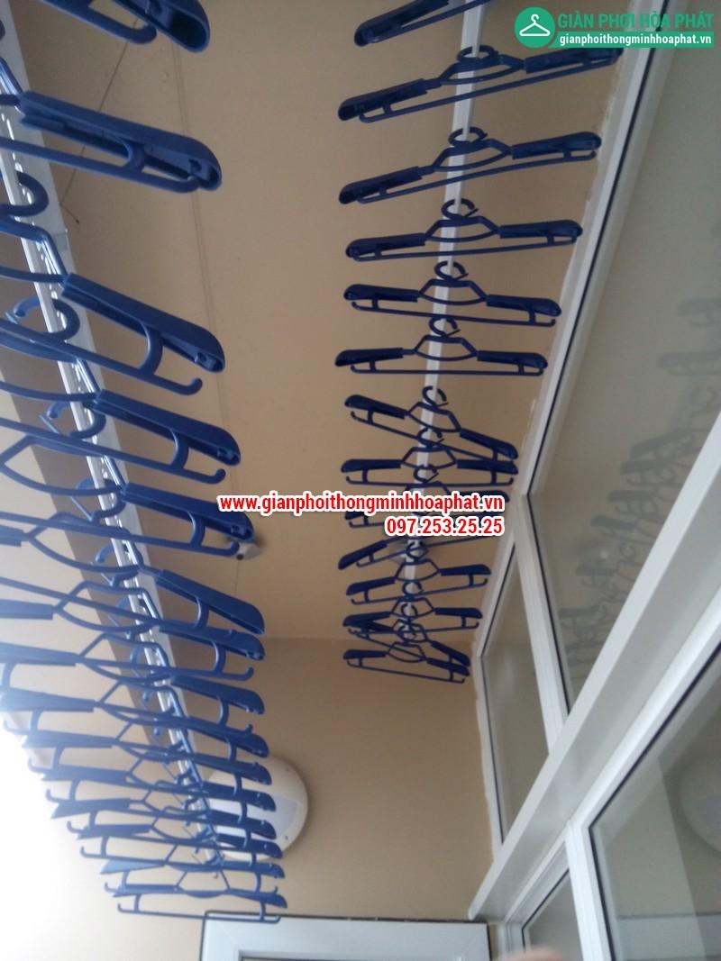 Giàn phơi thông minh nhà chị Nga P1806 Chung cư CT2 - Dream Town - Coma6 19