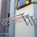Giàn phơi thông minh nhà cô Lan BT02 khu nhà Vinaconex Ngõ 43 Phùng Khoang