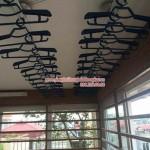 Giàn phơi thông minh nhà cô Lan số 15 đường Tư Đình, quận Long Biên, Hà Nội