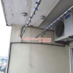 Sửa chữa giàn phơi thông minh nhà chị Ngân phòng 1406 số 249A Thụy Khuê