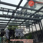 Giàn phơi thông minh nhà anh Thanh số 118 số 3.1 khu Gamuda Gardens Yên Sở