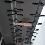Lắp giàn phơi nhà chị Dung phòng 1008 chung cư Hòa Phát số 275 Giải Phóng