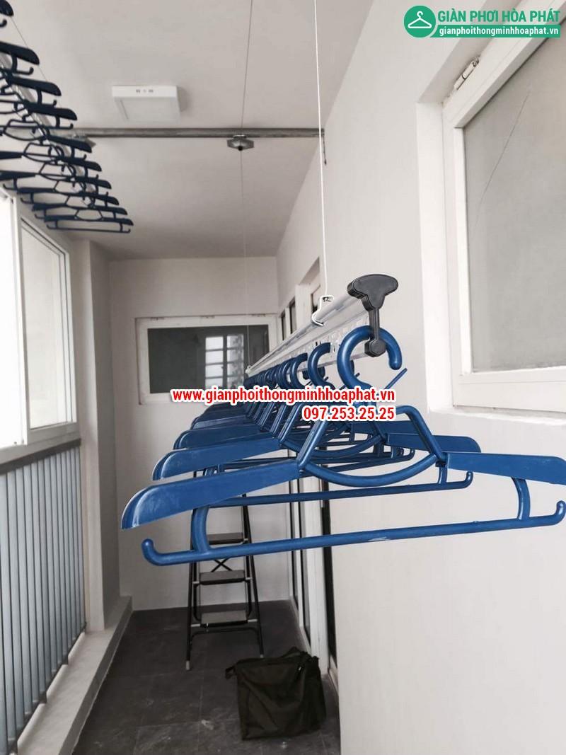 Tiện ích giàn phơi thông minh cho căn hộ chung cư