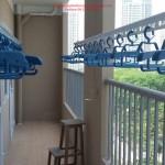 Lắp giàn phơi nhà chị Vân phòng 703 tòa nhà Intracom, Hà Đông, Hà Nội