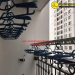 Lắp giàn phơi thông minh chị Hương phòng 1112 tòa T7 Times city, Minh Khai, Hà Nội