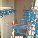 Lắp giàn phơi thông minh nhà anh Minh P1205B tòa NO7B1 Thanh Bình, Dịch Vọng