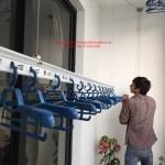 Lắp giàn phơi thông minh nhà anh Phong P1109 T10 Times city