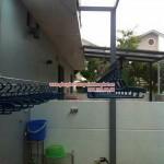 Lắp giàn phơi thông minh nhà anh Thịnh số 17 ngõ 183 phố Hoàng Văn Thái, Hà Nội