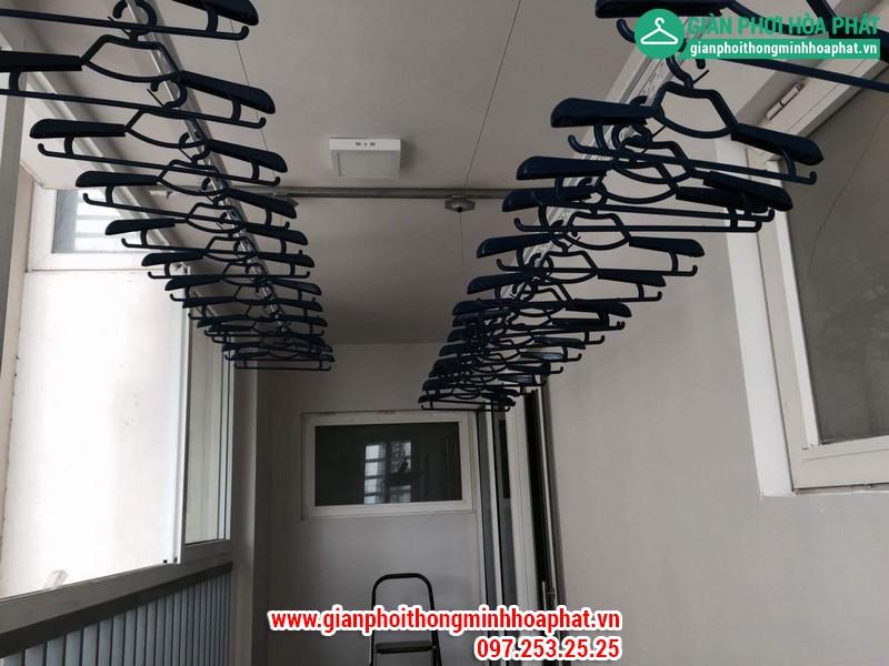Giàn phơi thông minh nhà chị Thanh P504 nhà L1 Ciputra Hà Nội 12
