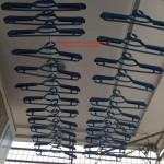 Lắp giàn phơi thông minh nhà chị Trang phòng 902 số 18 phô Yên Ninh