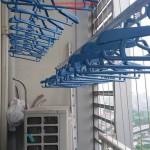 Lắp đặt giàn phơi thông minh nhà anh Dũng phòng 2202 tòa B Keangnam Hanoi