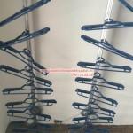Nhà anh Hải lắp giàn phơi quần áo phòng 1807 tòa 25T1 phố Hoàng Đạo Thúy