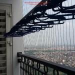 Nhà anh Khánh lắp giàn phơi thông minh P3117 T8 Times City