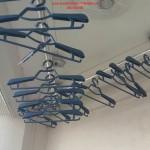 Nhà anh Linh lắp giàn phơi thông minh phòng 320 tòa nhà D 10 Đặng Xá, Gia Lâm
