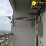 Nhà chị Hồng lắp đặt bộ giàn phơi thông minh tại phòng 1805 tòa 103 KĐT Bắc An Khánh