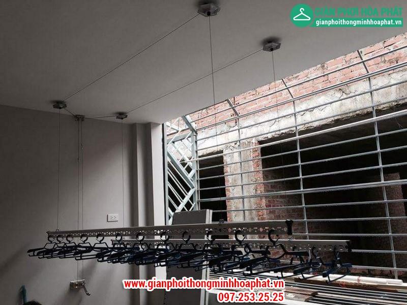 Giàn phơi thông minh nhà số 4- LK4, kđt TC5 Tân Triều, Hà Nội 01