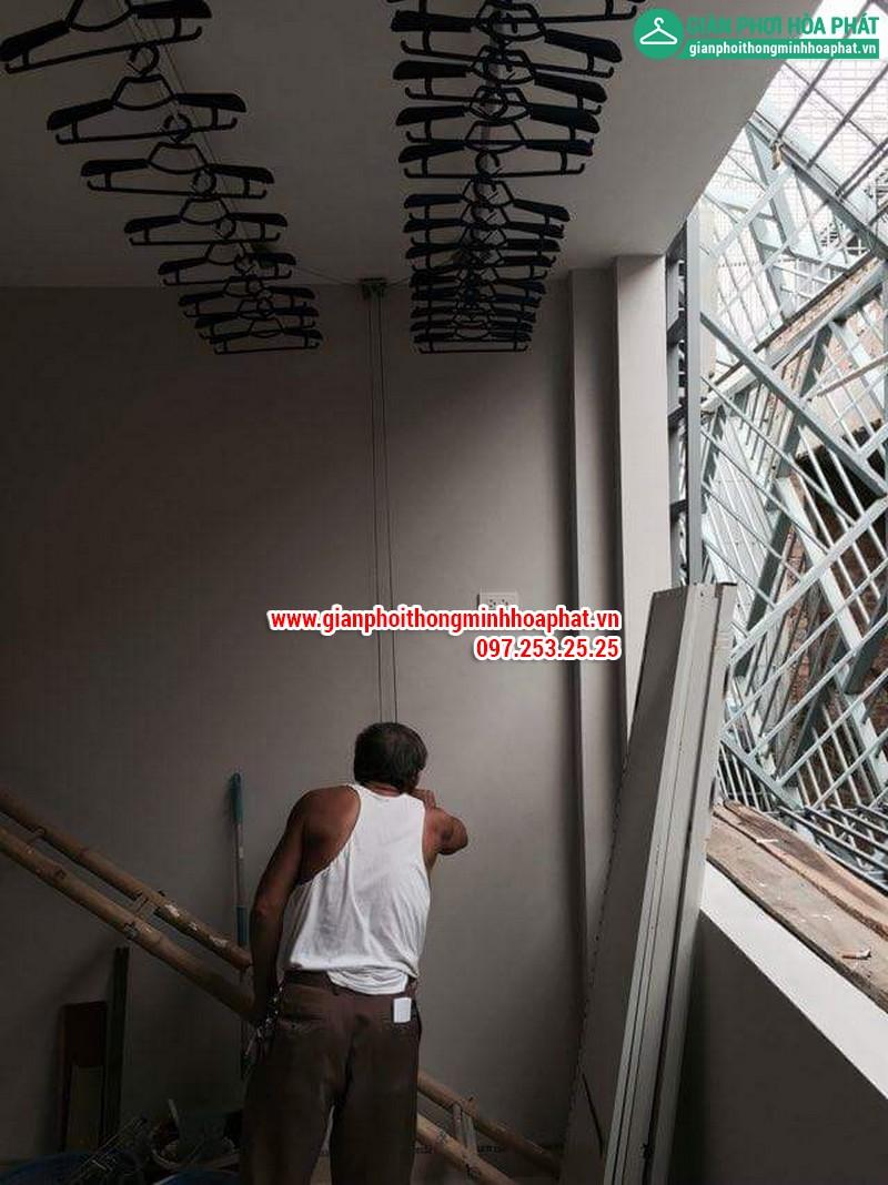 Giàn phơi thông minh nhà số 4- LK4, kđt TC5 Tân Triều, Hà Nội 06