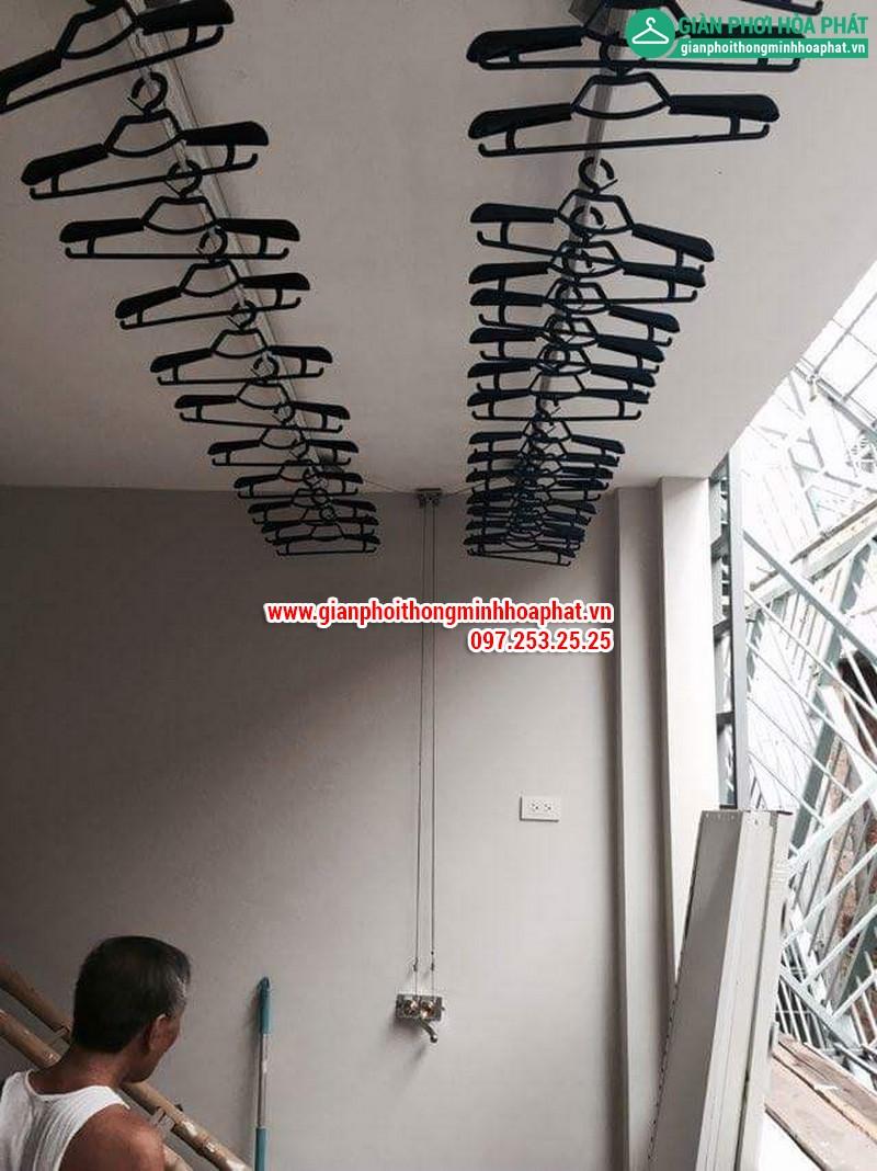 Giàn phơi thông minh nhà số 4- LK4, kđt TC5 Tân Triều, Hà Nội 08
