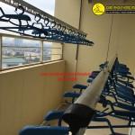 Nhà chị Nhung lắp giàn phơi thông minh phòng 2008 tòa CT66 Văn Khê, Hà Đông