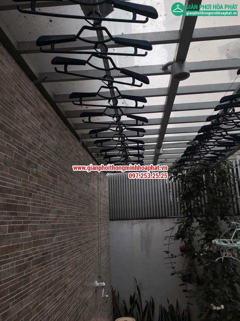 Nhà chi Thanh lắp giàn phơi thông minh nhà 258 Lương Thế Vinh, Trung Văn 14