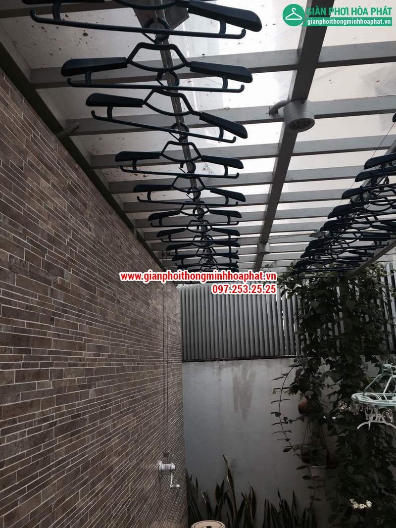 Nhà chi Thanh lắp giàn phơi thông minh nhà 258 Lương Thế Vinh, Trung Văn 15