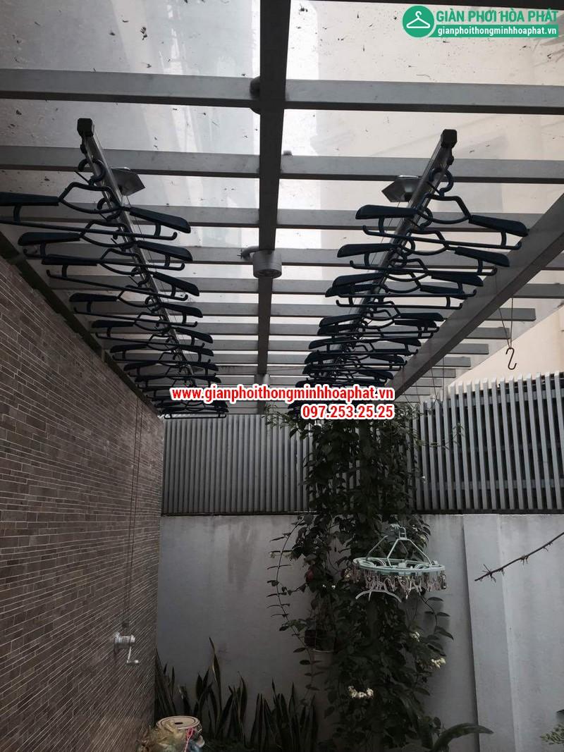 Nhà chi Thanh lắp giàn phơi thông minh nhà 258 Lương Thế Vinh, Trung Văn 16