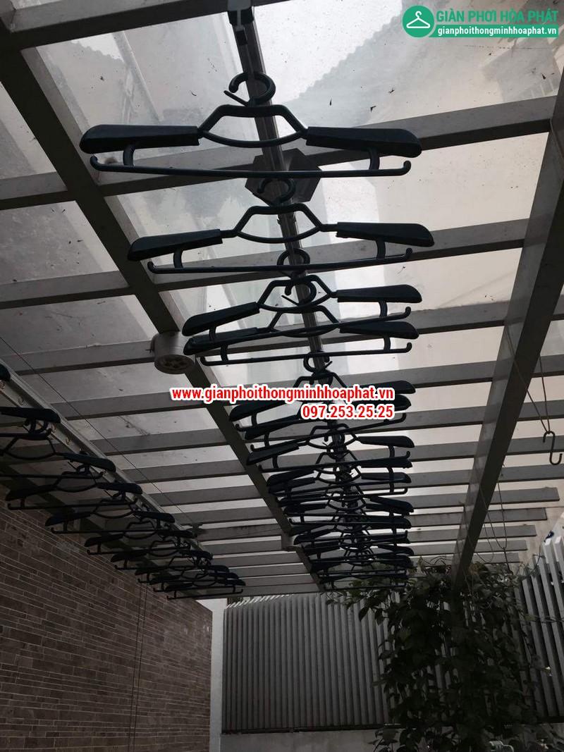 Nhà chi Thanh lắp giàn phơi thông minh nhà 258 Lương Thế Vinh, Trung Văn 18