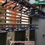 Lắp giàn phơi thông minh cho nhà mái tôn