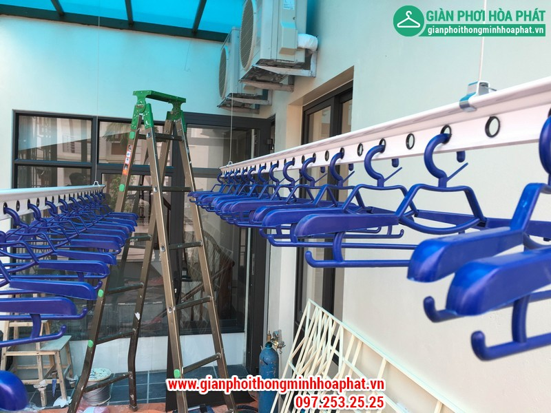 Nhà C.Hằng lắp giàn phơi số 17 No3B Sài Đồng, Long Biên - Tầng 02 - 08