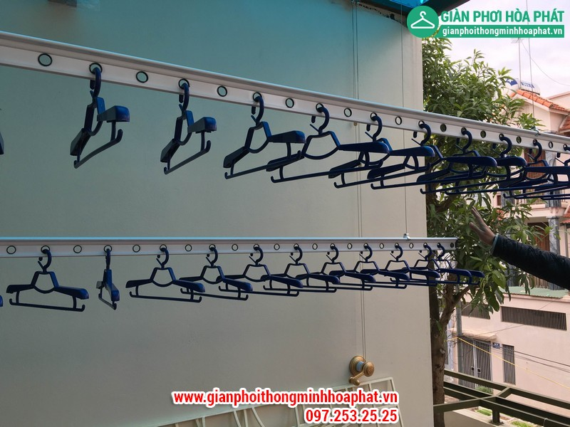 Giàn phơi thông minh Sài Đồng 12