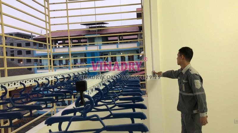 Giàn phơi tự động Vinadry AE711 - 1 sáng chế cực hoàn hảo của Vinadry