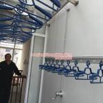 Biệt thự số 8 đường Hoa Sữa Vincom sử dụng giàn phơi thông minh Hòa Phát