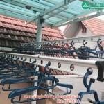 Lắp giàn phơi Hòa Phát A.Vinh A15 – BT05 KĐT Việt Hưng, Giang Biên, Long Biên