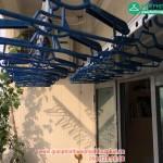 Lắp giàn phơi thông minh nhà chị Linh P1204 – CT2B chung cư VOV Mễ Trì